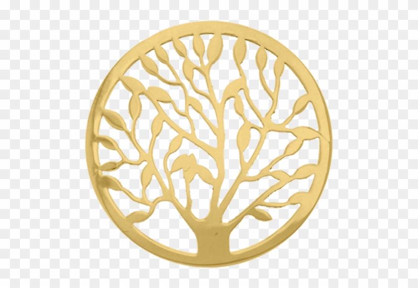 """tree Of Life"" Cover Insignia 33mm - Fantasy Insignia Clipart #86245"