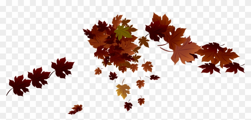 Red Fall Leaves Png Clipart #86739