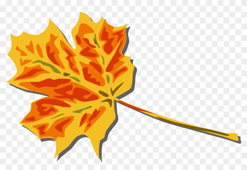 Big Image - Fall Leaves Clip Art - Png Download #86984