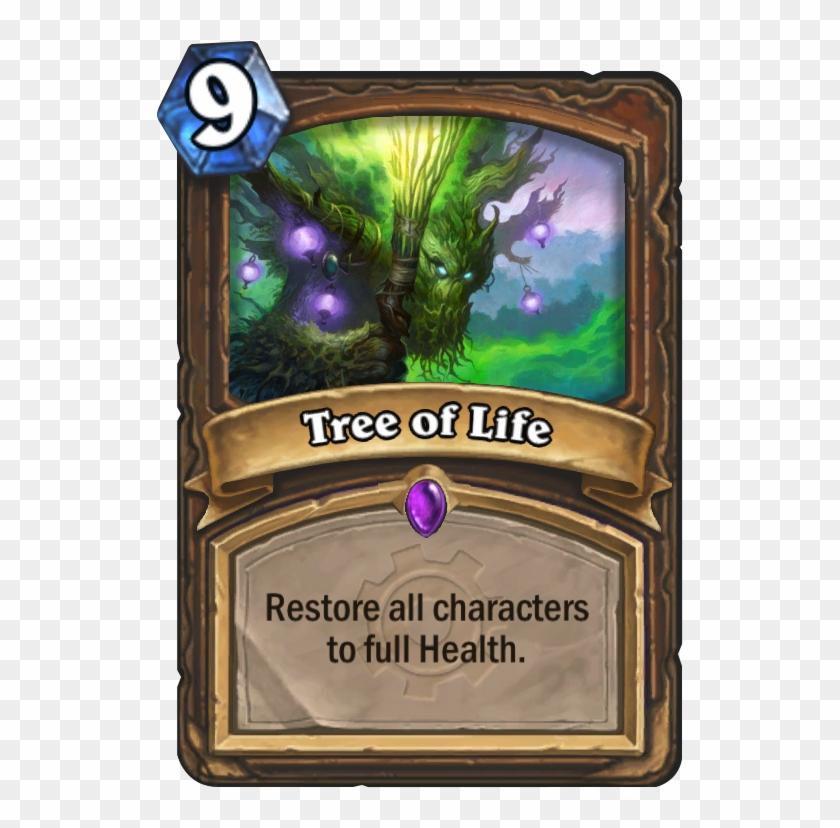 Tree Of Life Card - 0 Mana Cards Hearthstone Clipart #87627