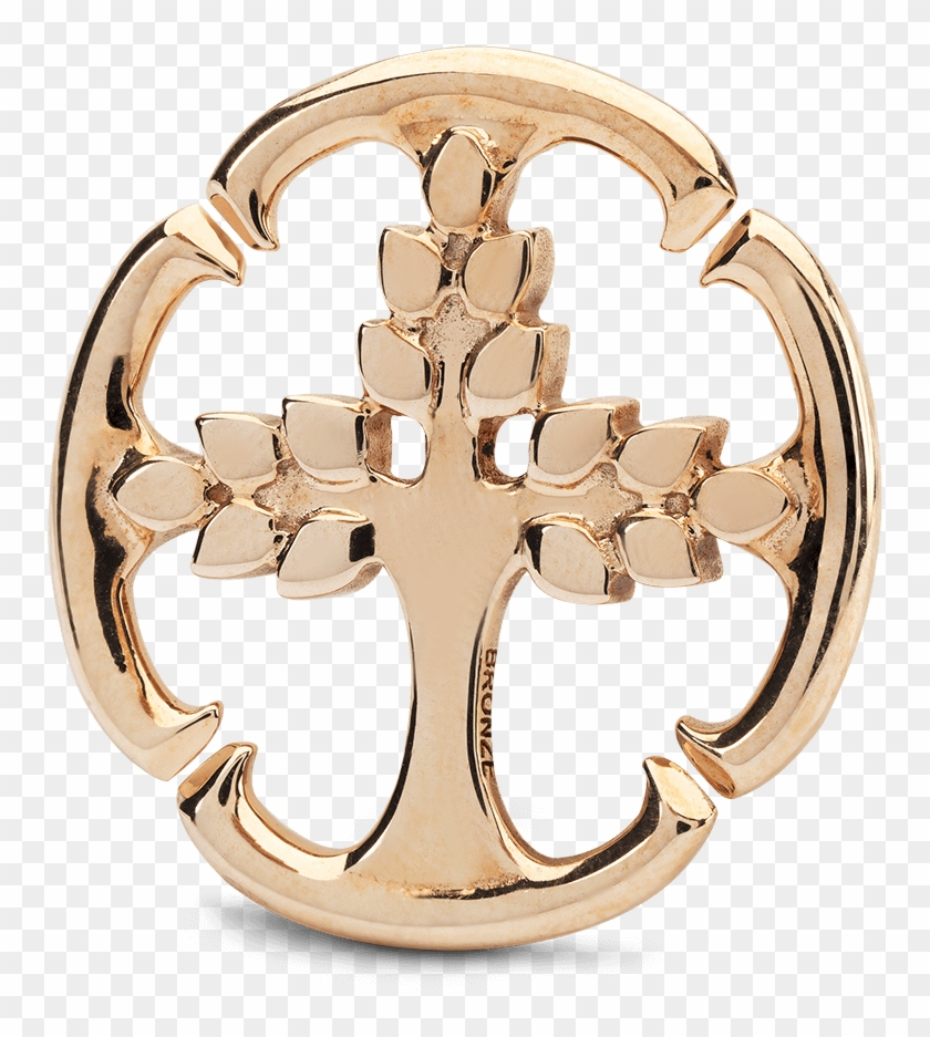 X Jewelry Tree Of Life Double Bronze Link - X Jewellery Tree Of Life Clipart #87653