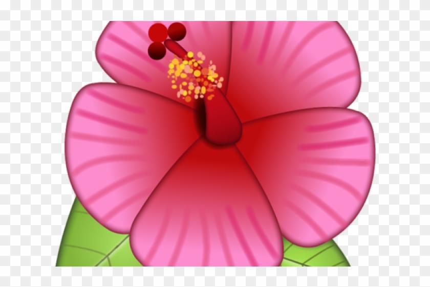 Emoji Clipart Flower - Flower Emoji Sticker Iphone - Png Download #801238