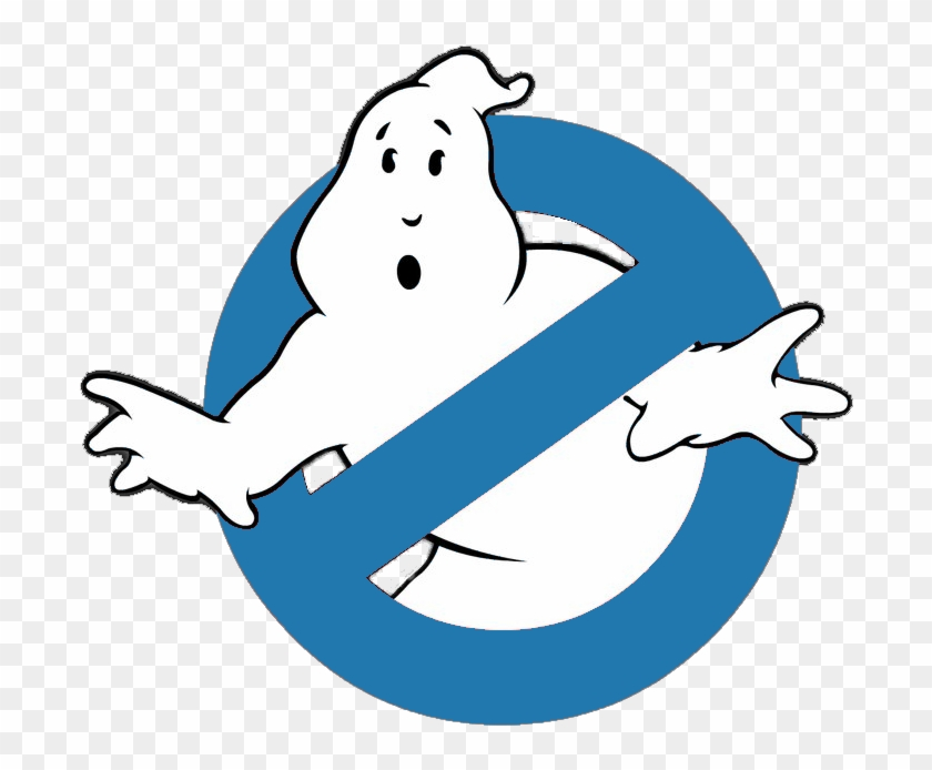 Ghost Buster Logo Png , Png Download - Cute Ghost From Ghostbusters Clipart #801621