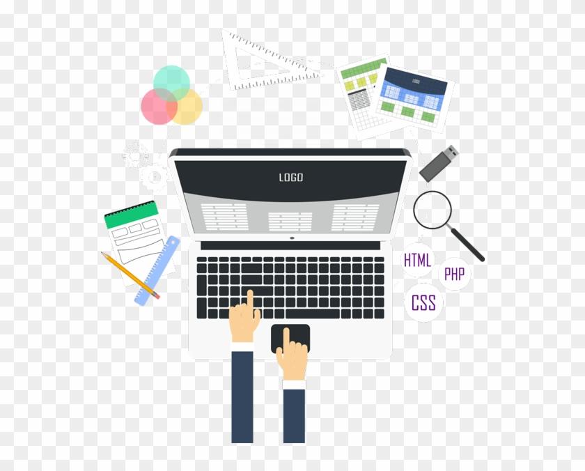 Web Design Png Picture - Web Designer Illustration Png Clipart #809083