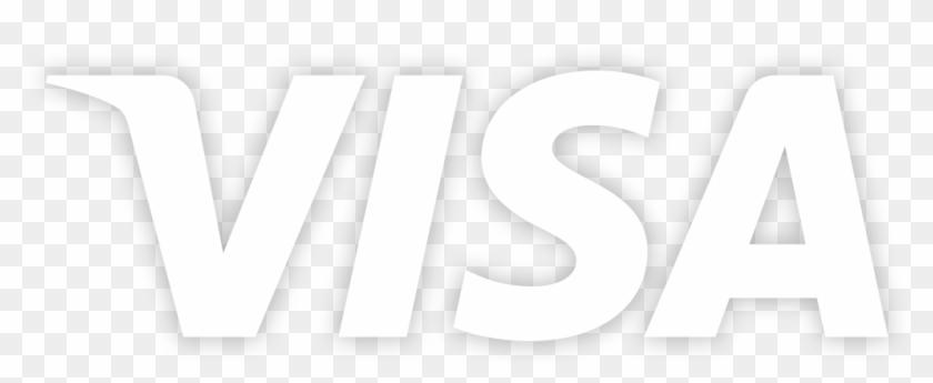Visa La Perle - Visa Card Logo White Clipart (#10) - PikPng