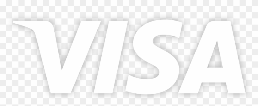 Download Visa La Perle - Visa Card Logo White Clipart Png Download