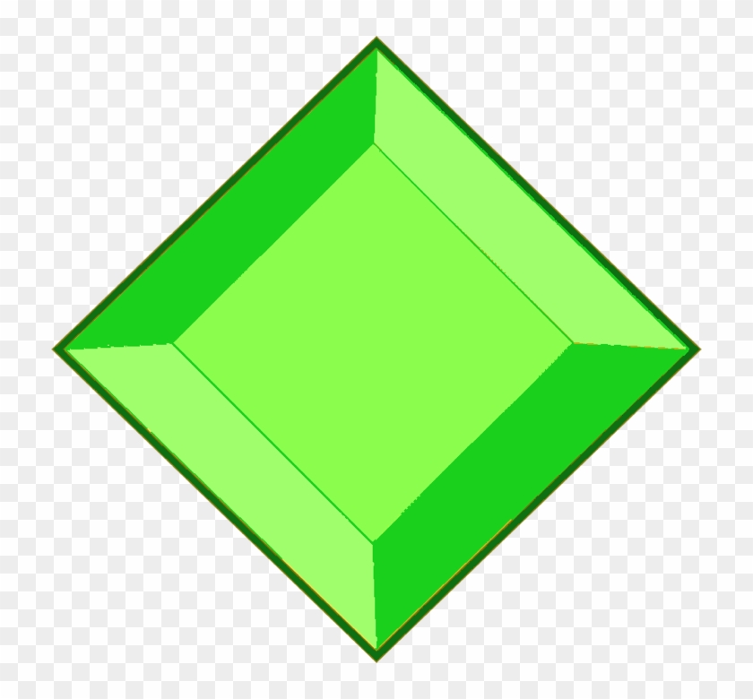 Yellow Diamond Gem Png - Steven Universe Green Diamond Gem Clipart #810164
