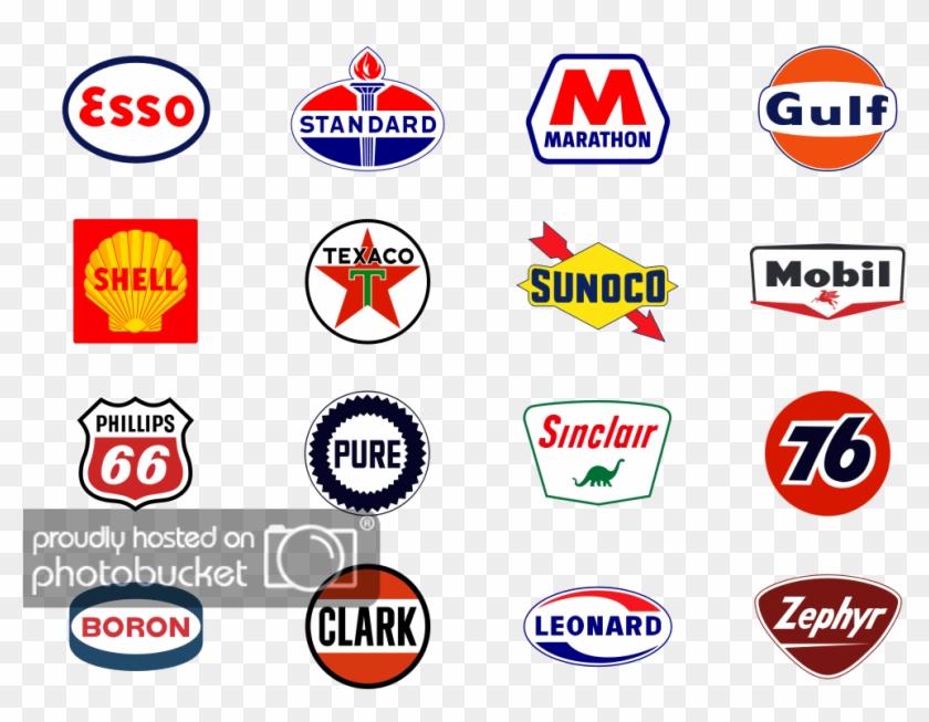 Gas Station Logos 2 Photo Gaslogos1 - Marathon Oil Clipart #813968