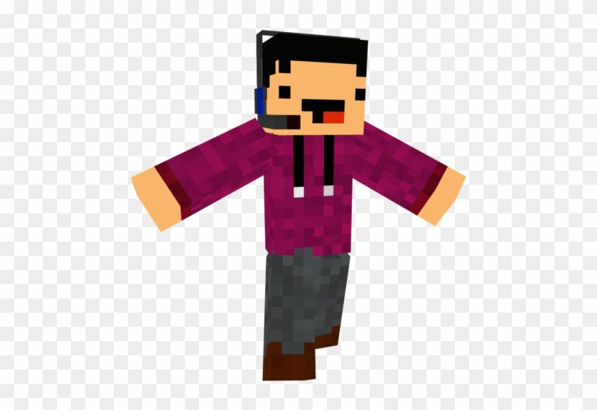 Give A Diamond Or Favorite If You Like Derp Gamer Skin - Fictional Character Clipart #815534