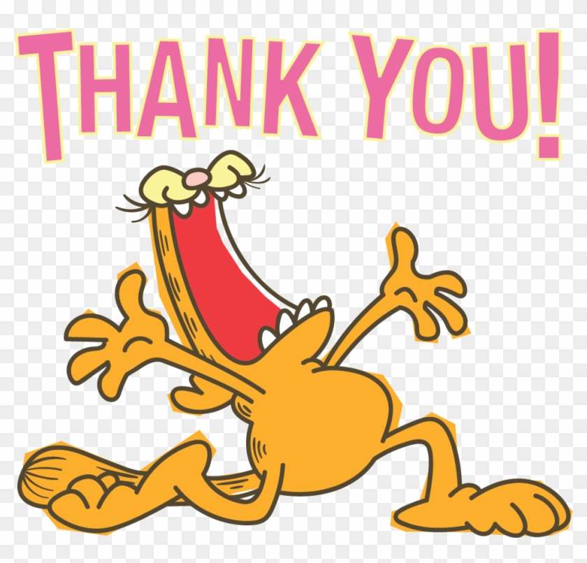 Garfield Line Stickers Bare Tree Media Png Garfield - Thank You United Way Clipart #816494