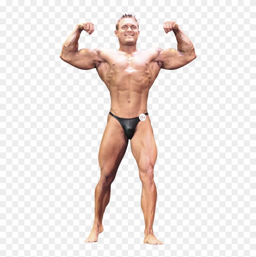 Bodybuilding Png - Body Builder Full Body Clipart #818926