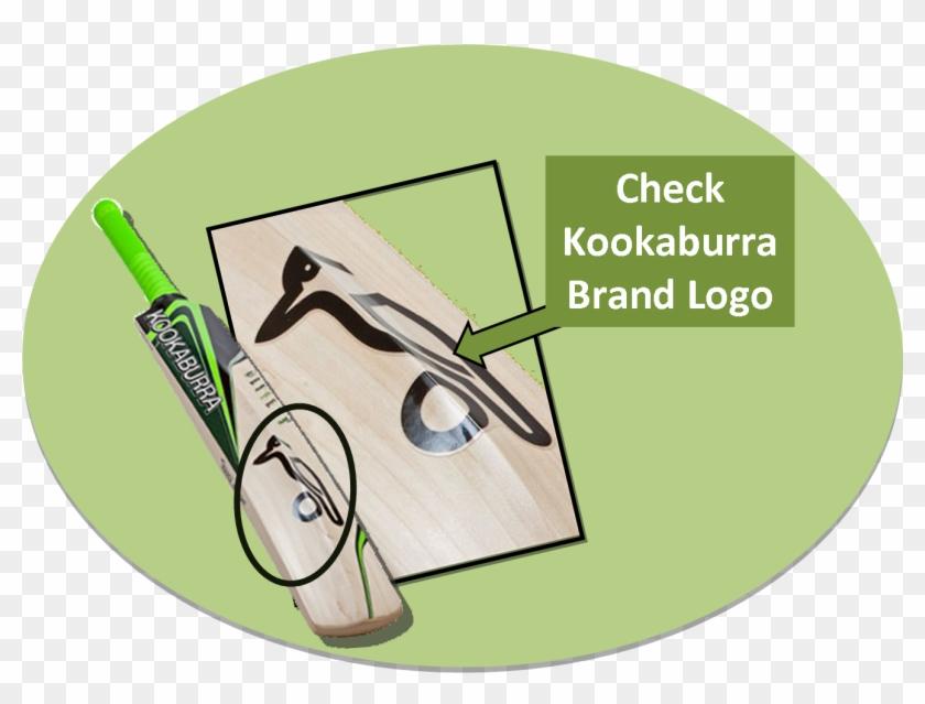 Kookaburra Cricket Bats - Fake Kookaburra Cricket Bat Clipart #825803