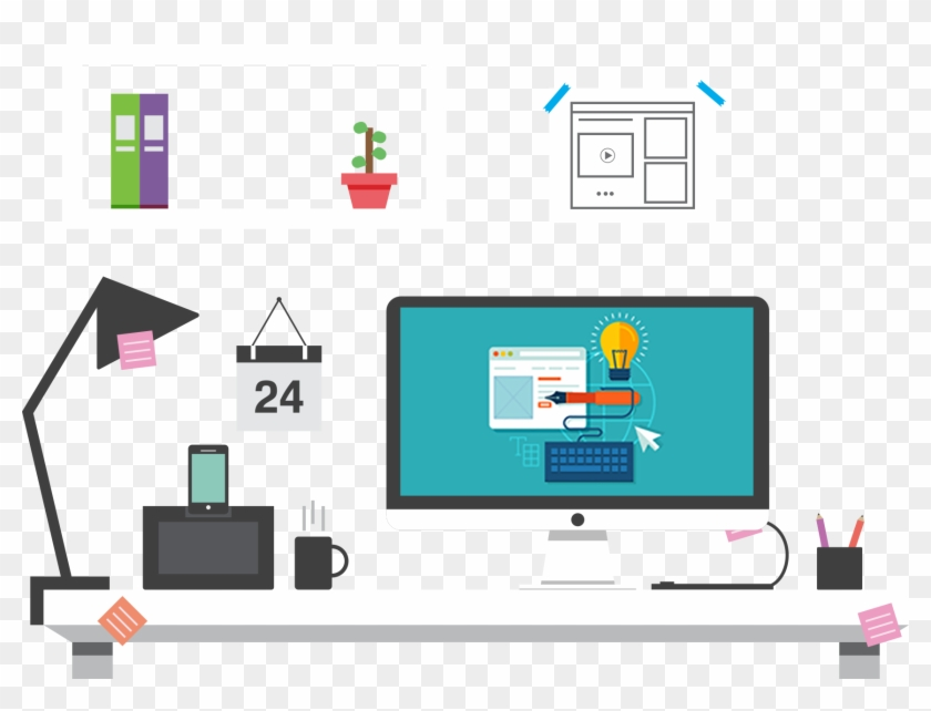 Bespoke Web Design - Web Design Clipart #827897