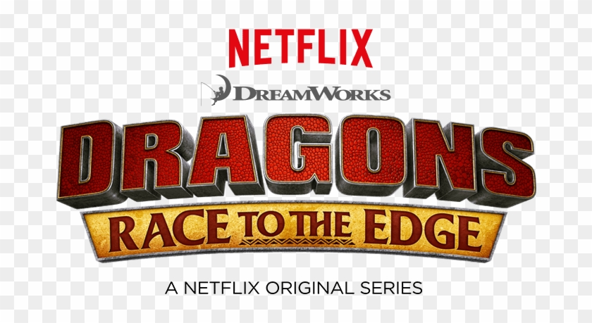 First Look At Netflix Original Series - Netflix How To Train Your Dragon Logo Clipart #828896