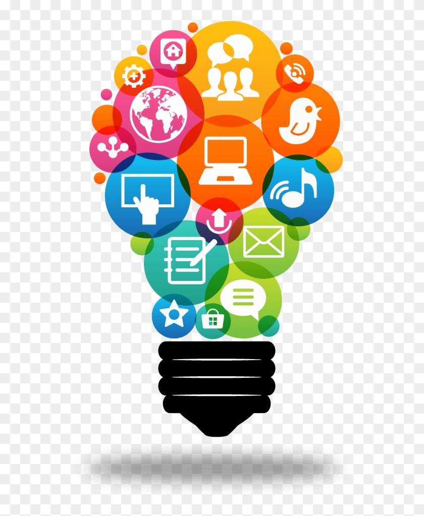 Solution Of Social Media Clipart #830794