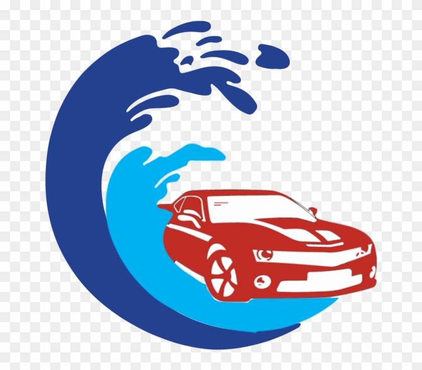 Car Wash And Car Valeting Services Liosban Industrial - Car Wash Logo Png Clipart #833217