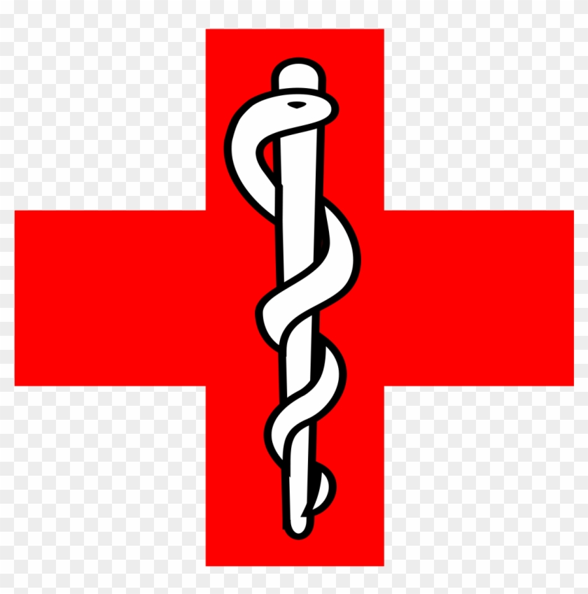 Rod Of Asclepius File - Asclepius Staff Medical Symbol Clipart #833497