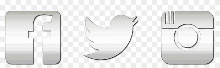 Noah Silver Instagram Png Transparent Graphics Thepixinfo - Facebook Twitter Instagram Logo Transparent Clipart #834927