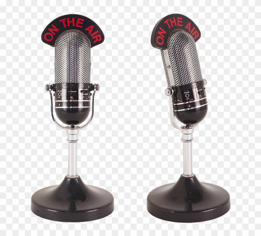 Radio Microphone Png - Radio Microphone Clipart #835834