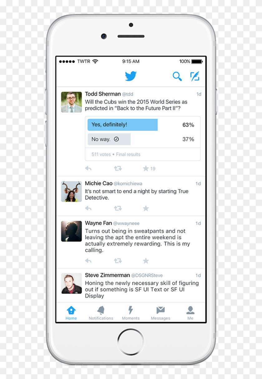 Zdnet Twitter Polls Mobile App - Twitter Polls Mobile Clipart #838799