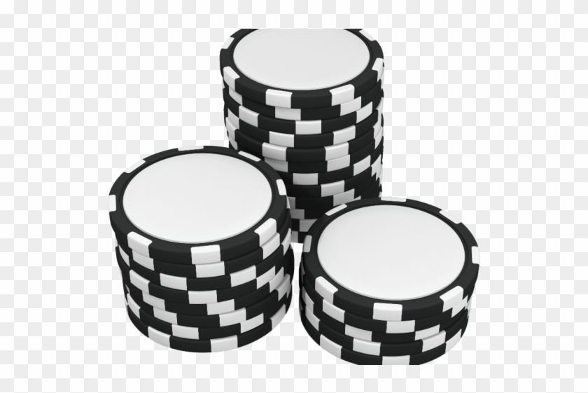 Poker Clipart Poker Chip Black And White Poker Chips Clipart Png Download 841777 Pikpng