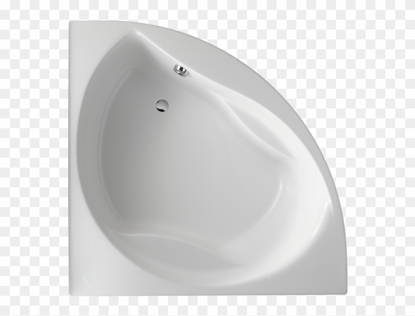 Presqu'île Corner Bath 145 X 145 Cm ® - Corner Bath Tub Top View Clipart #844520