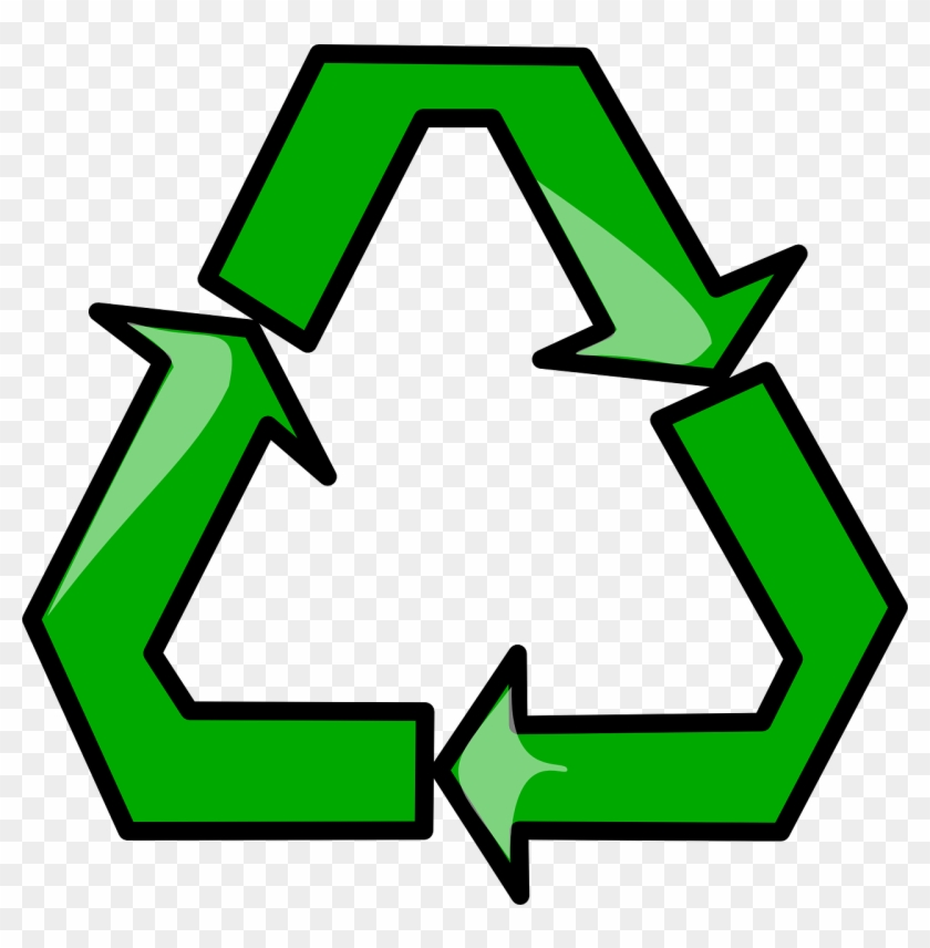 Recycling Symbol Png - Cartoon Recycle Symbol Clipart #857099