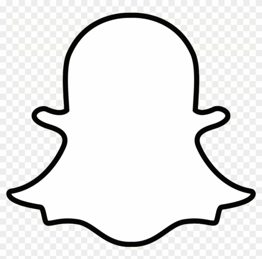 Free Png Download White Snapchat Logo Png Images Background Snapchat Icon White Png Clipart 861826 Pikpng