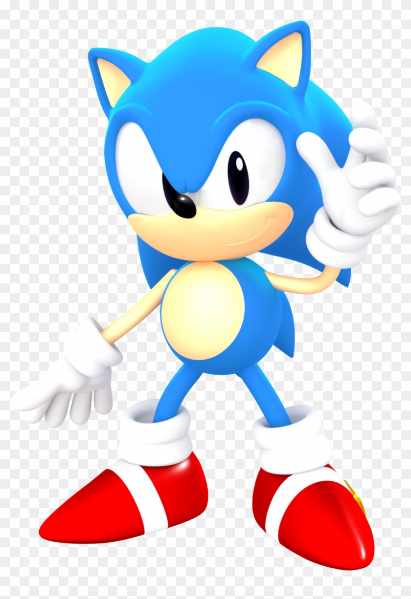 Sonic The Hedgehog, Blur, Video Games, I Love, Videogames, - Sonic Classic Sonic Forces Clipart #863932