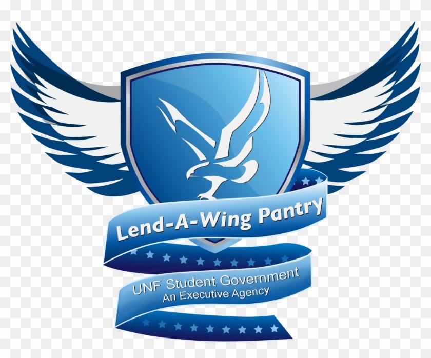 Lend A Wing Pantry Ea Logo - Emblem Clipart #864184