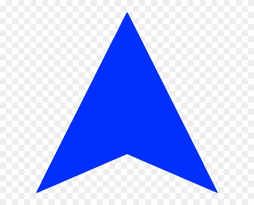 Blue Arrow Up Darker - Blue Arrow Up Png Clipart #869826