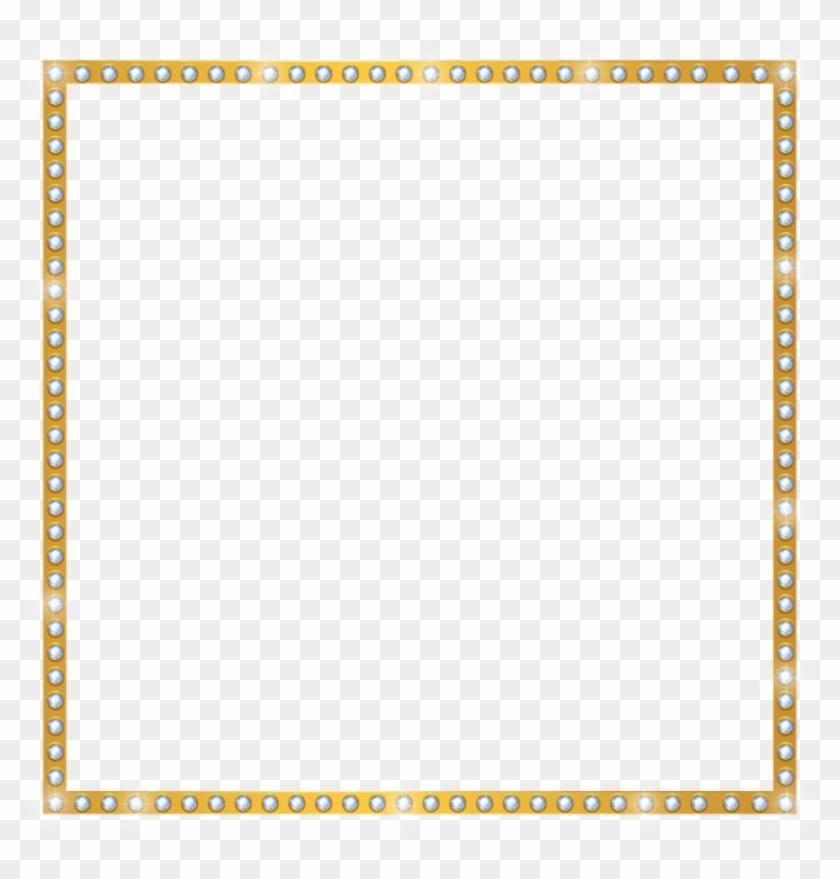 Free Png Download Gold Shining Border Frame Transparent - Shining Border Clipart #869944