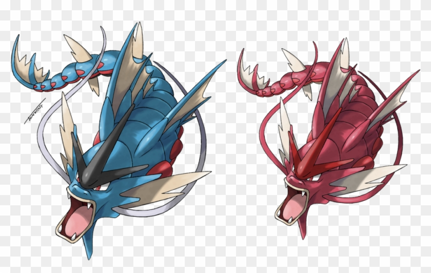 Fug Pokemon Mega Gyarados Hd Png Download 874436