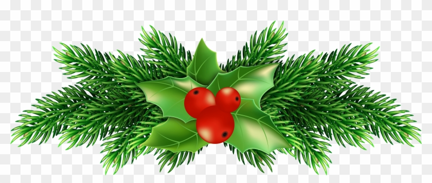 Christmas Holly Png Transparent Clipart #874540
