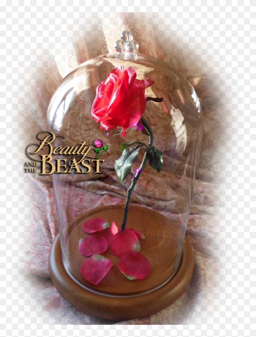 Free Beauty And The Beast Enchanted Rose Prop Clipart #874944