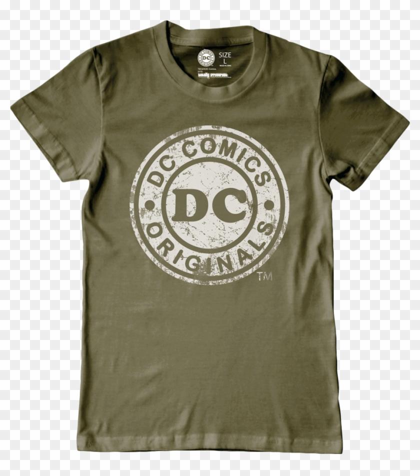 Logo Khaki Kids Or Youth T-shirt - Dc Comics Originals Clipart #876343