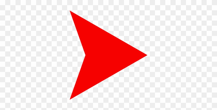 Red Arrow - Red Arrow Right Png Clipart #876735