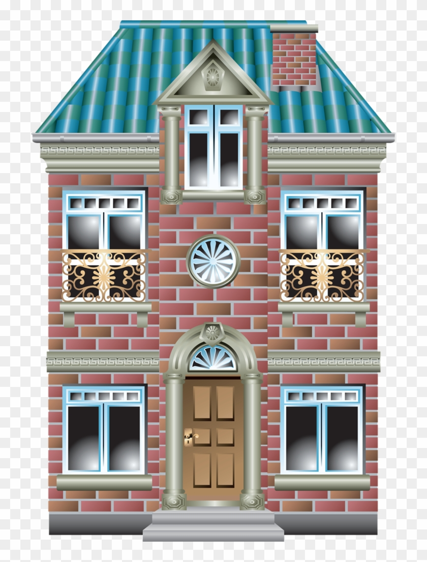 House Quilts Fabric Houses Paper Houses Cute Big House Cartoon Png Clipart 887871 Pikpng
