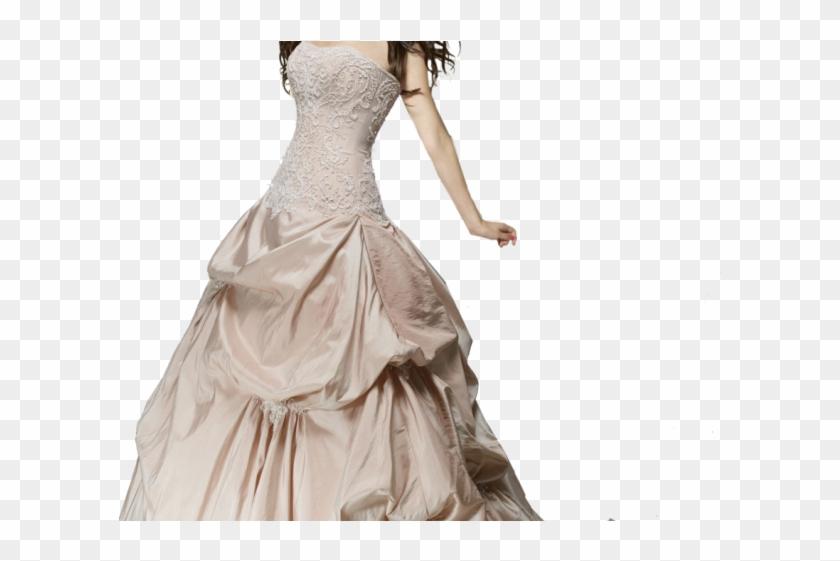 Saree Clipart Transparent - Selena Gomez Wedding Dress - Png Download #893896