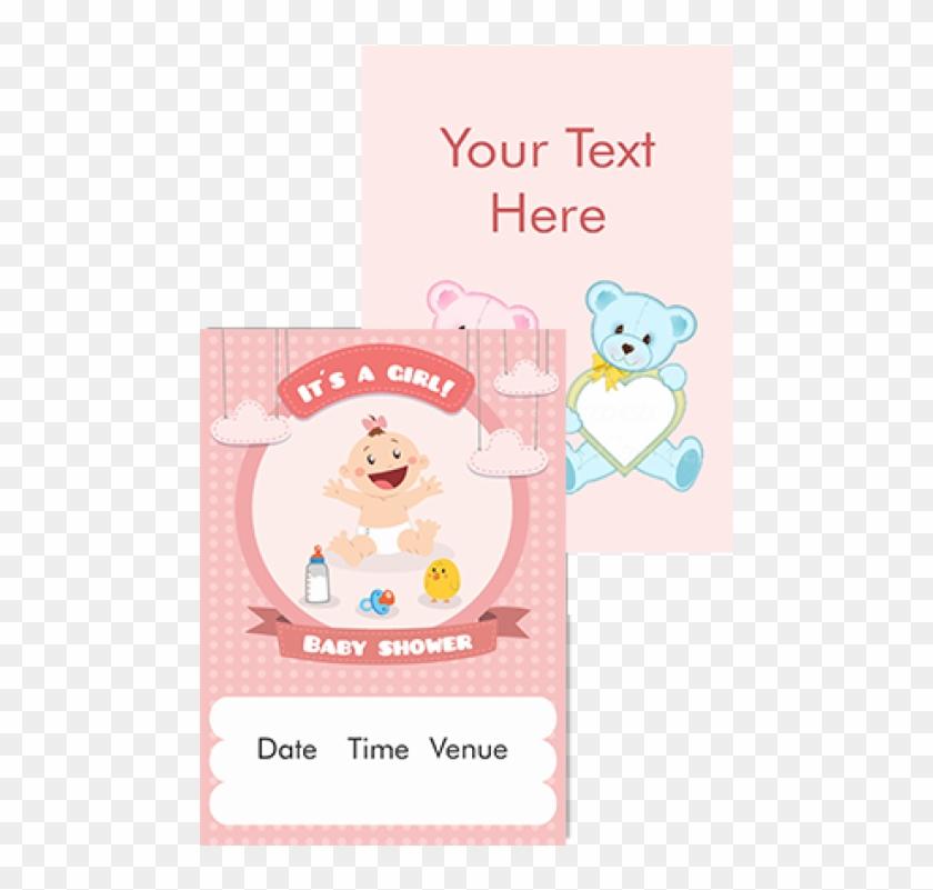 It S A Girl Namkaran Invitation Card Infant Hd Png