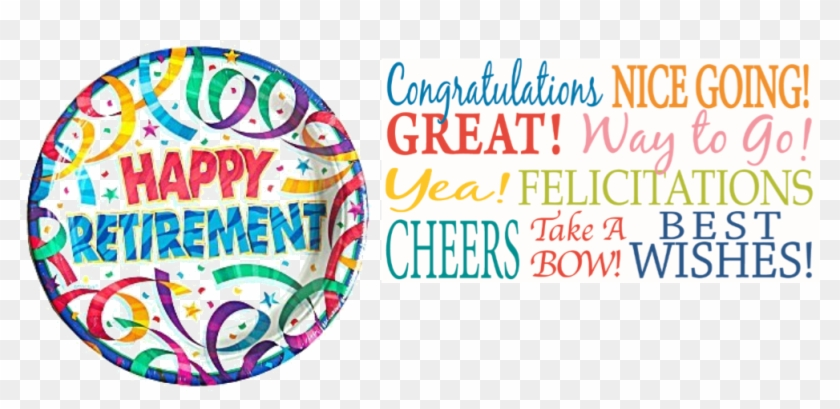 Happy Retirement Png Clipart 896375 Pikpng