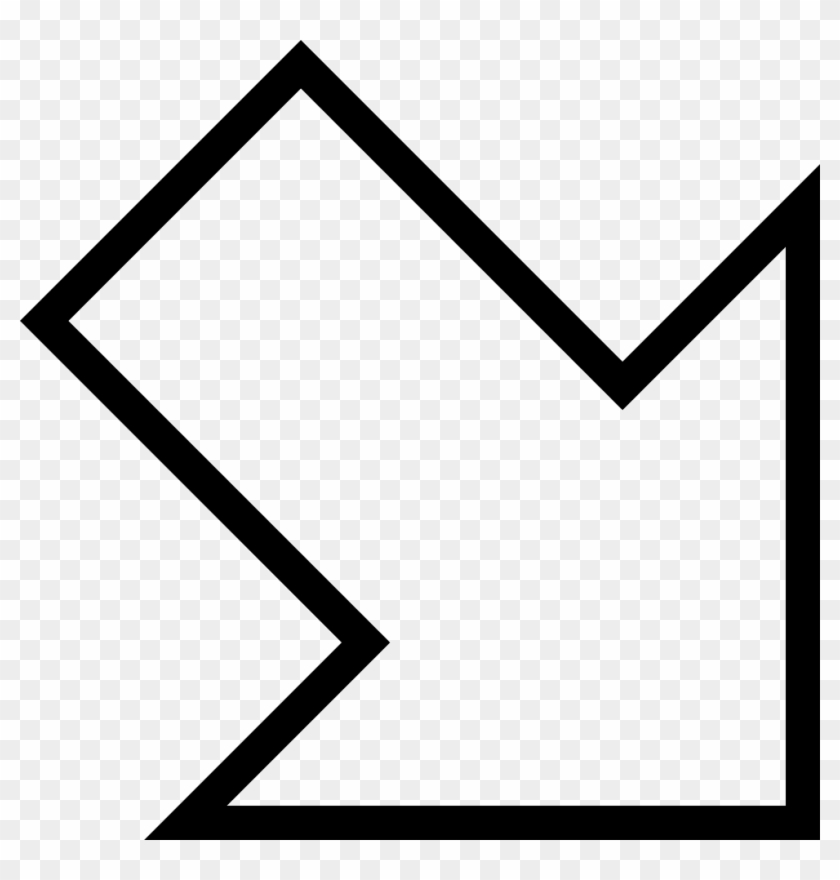 Arrow Pointing Down Png - Diagonal Down Right Arrow Clipart #898882