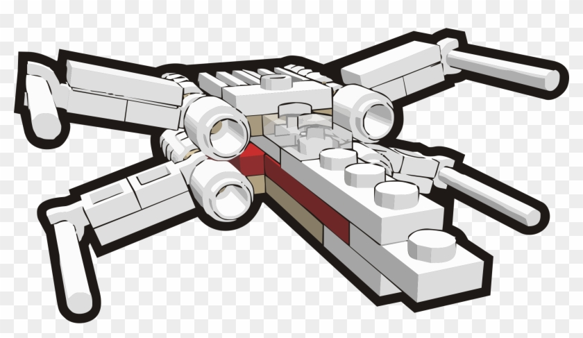 X-wing Starfighter Clipart #90671