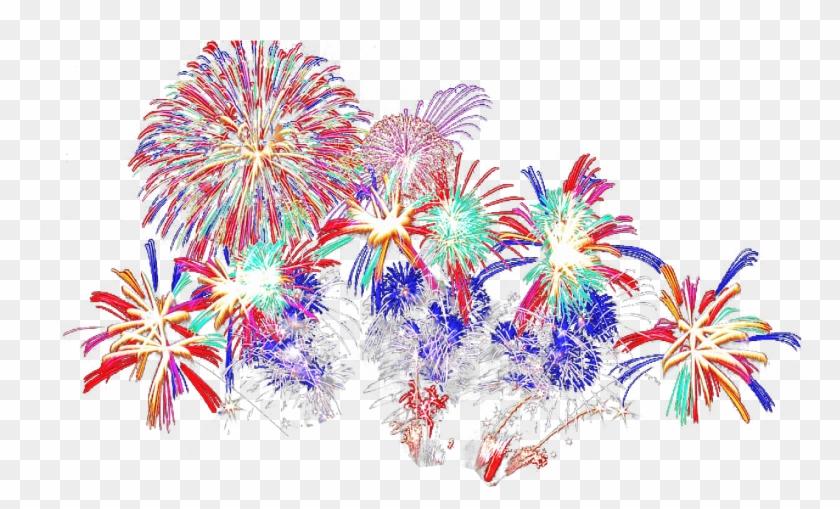 Fireworks - Transparent Background Fireworks Gif Png Clipart@pikpng.com