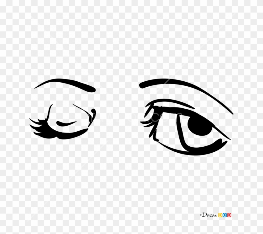 Draw Cartoon Eyes Clipart 96391 Pikpng