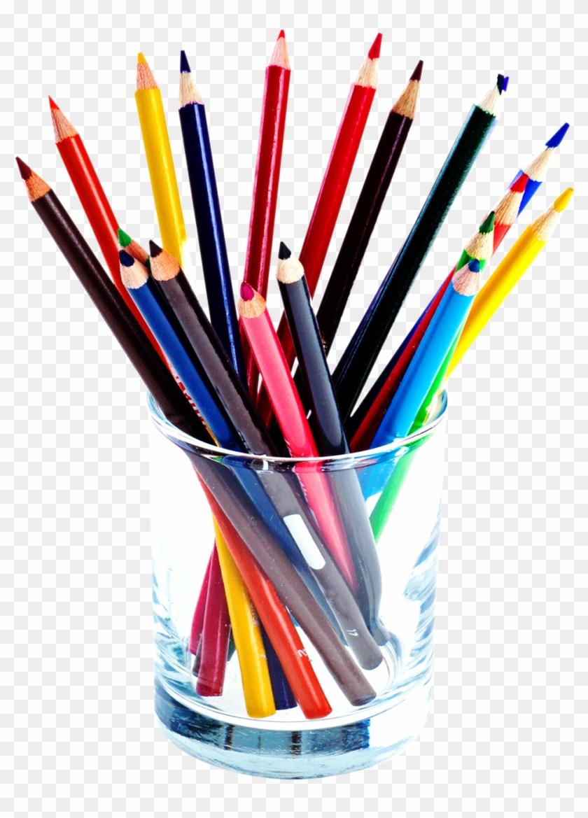 Color Pencils Png Image - Pencil Png Clipart #98935