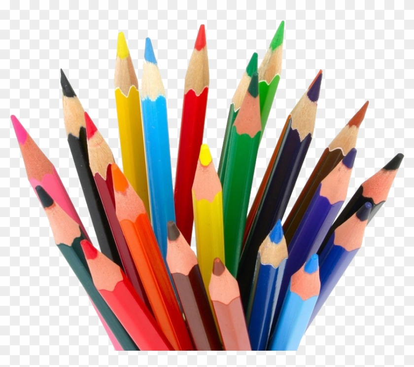 Pencil Download Png Image - Colour Pencil Clipart #99810