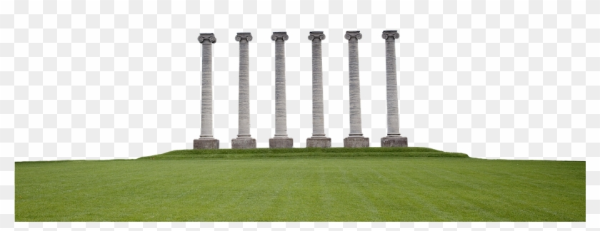 Columns, Pillars, Architecture, Ancient, Classical - Grass Clipart #901255