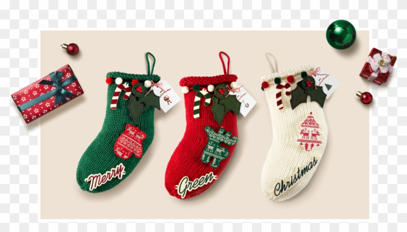 Join Us In Handcrafting Your Very Own Diy Christmas - Innisfree Diy Stocking Kit Clipart #901862