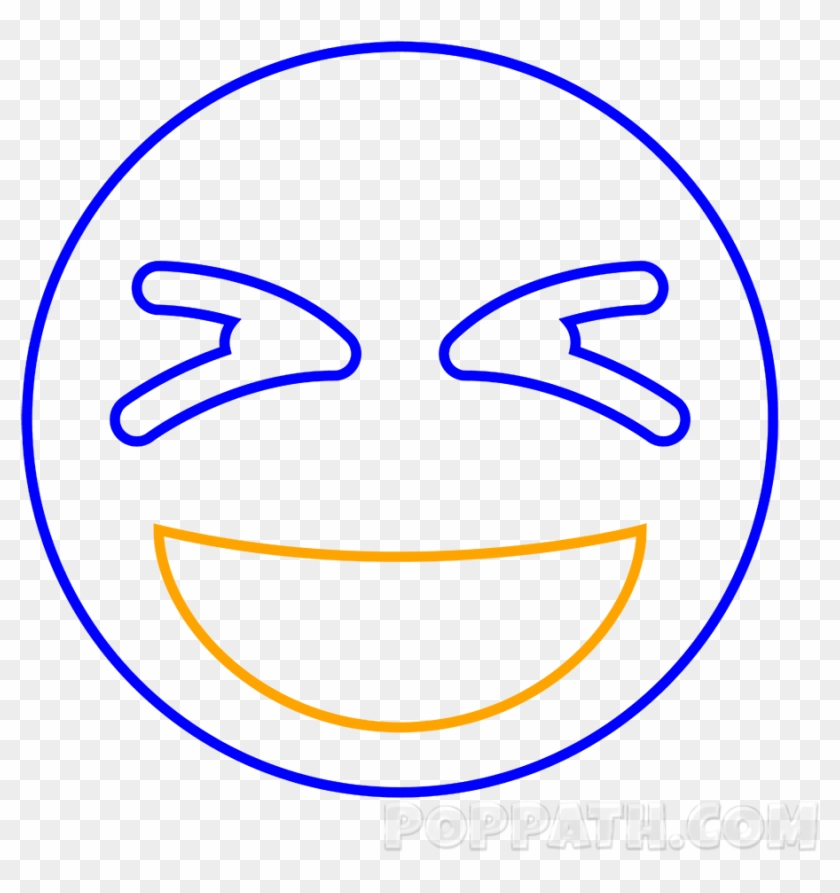 Now Draw An Uneven Upside Down Semi Circle For The - Emoji, HD Png Download #901870